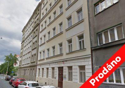 Veletržní, Praha 7 – Prodej bytu 2+1 v Praze Holešovicích