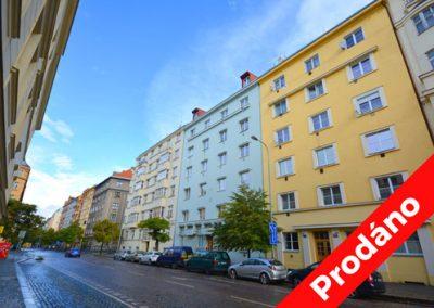 Boleslavská, Praha 3 – Prodej podkrovního bytu 4+kk
